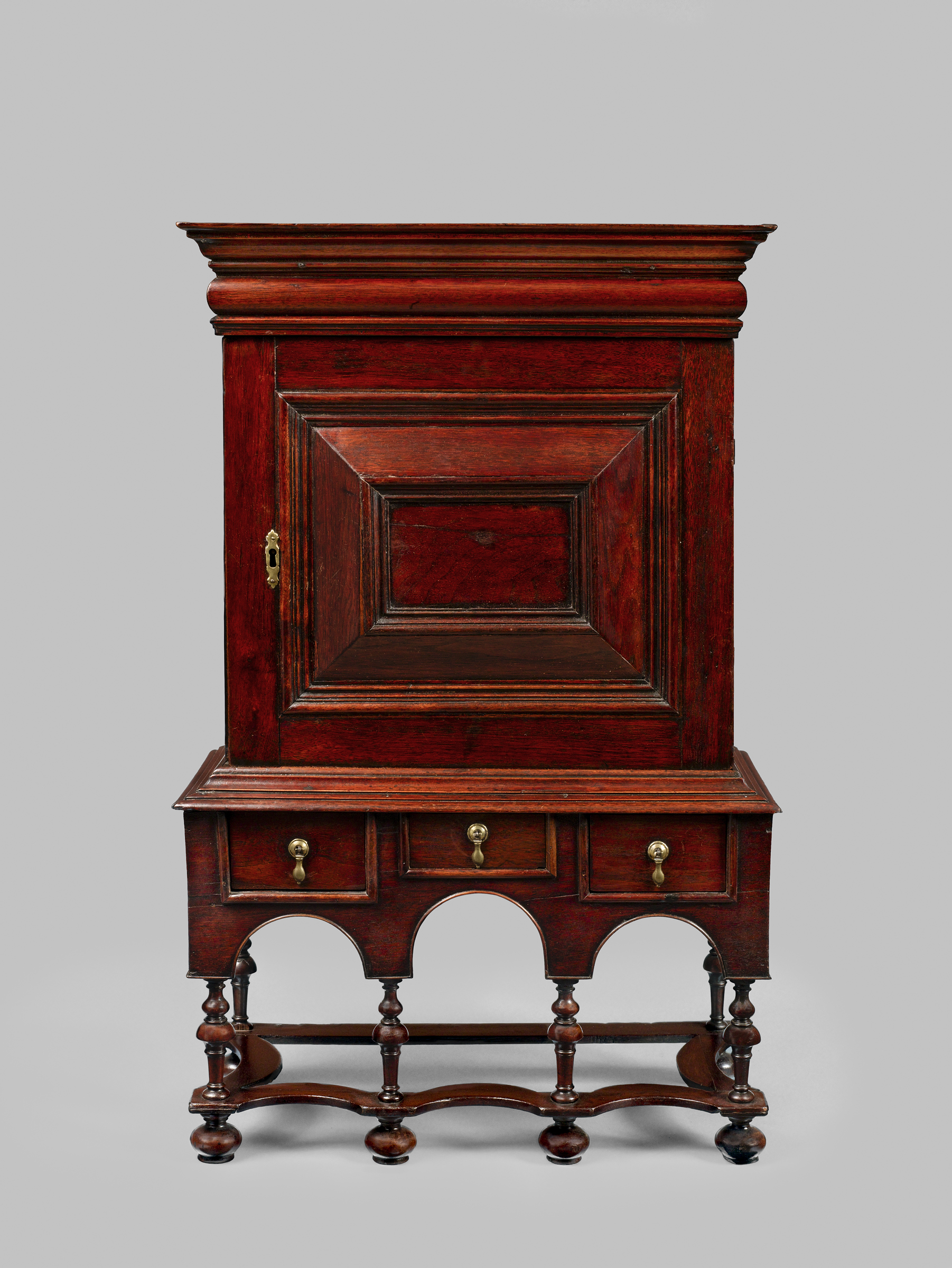 """A Rare William and Mary Cabinet: Some Thoughts on Its Function and Origin"""