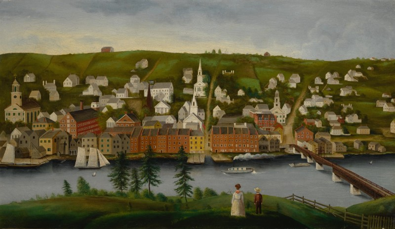 """A Painting of Hallowell Sold for How Much? Whoa!"